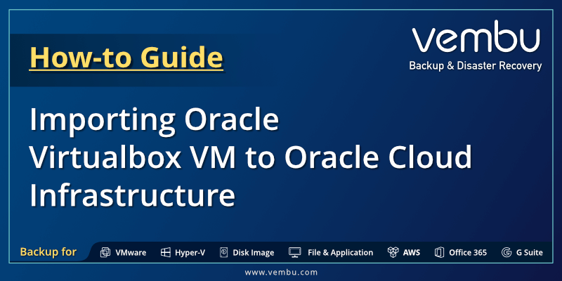 Oracle Virtualbox VM to Oracle