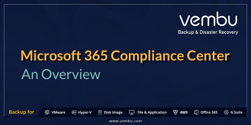 Microsoft 365 Compliance Center