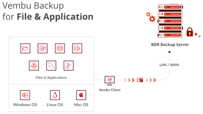 Vembu Backup for File & Application