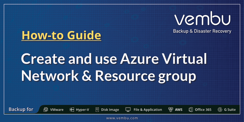 Azure Virtual Network & Resource group