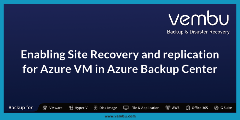 Azure Backup Center
